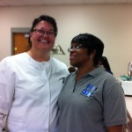 Patty, Instructor at Bates Dental Assisting Program Denise, PTHA