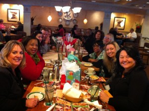 Member of the Pierce County Oral Health Coalition held their December meeting by celebrating the holidays at Olive Garden on Dec. 11. What a great looking group.