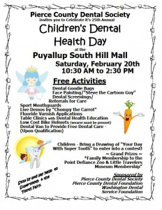 Children's Dental Health Day Poster