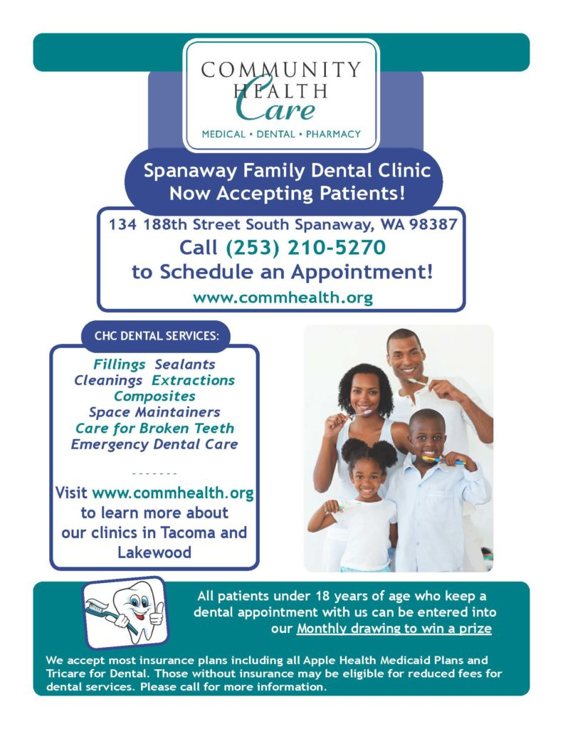CHC Spanaway Dental - Flyer